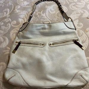 GUCCI Bags - GUCCI CAPRI WHITE HOBO LEATHER BAG